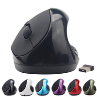 Wireless Vertical Mouse 6 Buttons Ergonomic Mice With Adjustable DPI 2 4 GHz Optical Mouse For