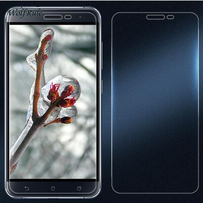 2PCS Screen Protector Glass Asus Zenfone 3 ZE552KL Tempered Glass For Asus Zenfone 3 ZE552KL Glass 5.5'' Phone Film WolfRule