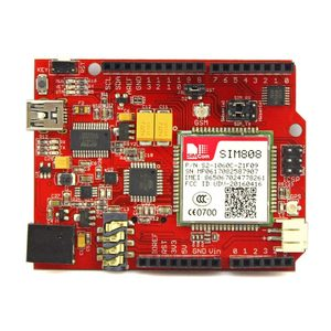 Image 2 - Elecrow Simduino for Arduino UNO and SIM808 Module 2 in 1 DIY Projects GPRS/GSM Development Board Specially Battery Interface