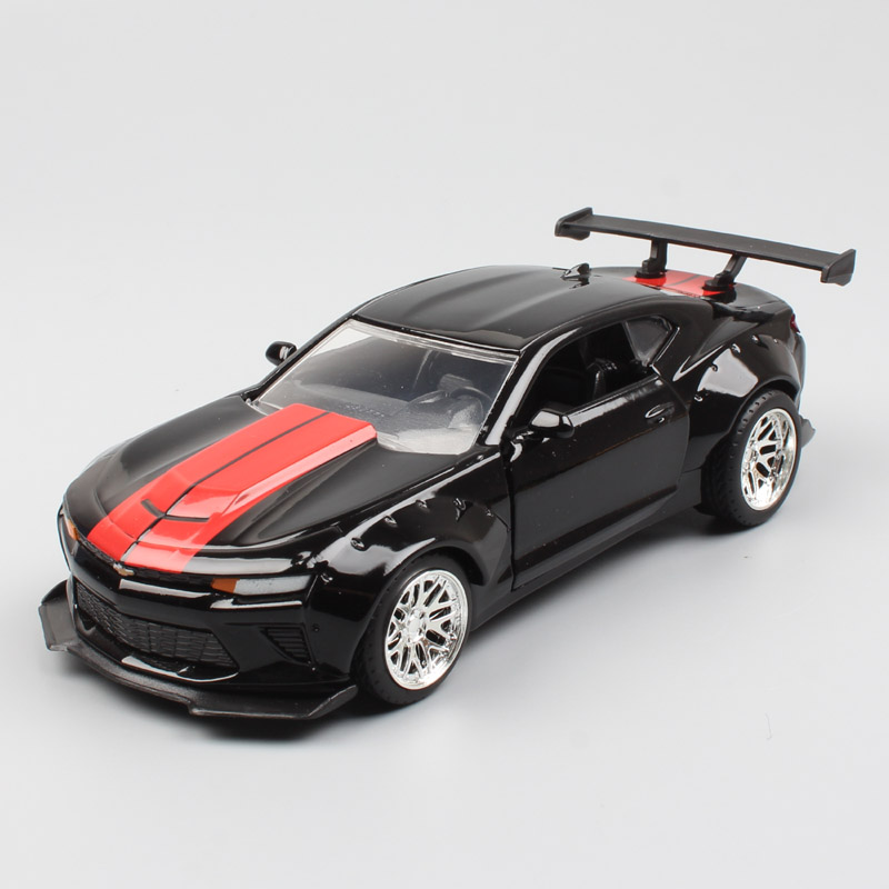 1/32 Scale Small Jada Bigtime 2016 Chevrolet Chevy Camaro SS Coupe Diecast Model Muscle Sport Car Toy For Miniature Kid Children