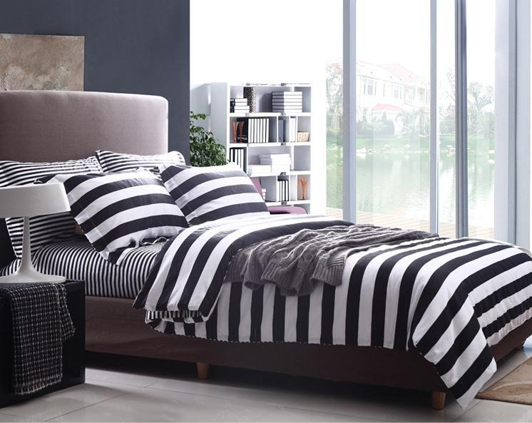 couvre lit blanc et noir Beautiful Couvre Lit Noir Et Blanc #2: Aliexpress.com: Acheter  couvre lit blanc et noir
