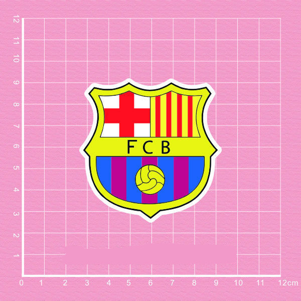 Fcb Barcelona Team Logo Decal Waterproof Home Decor Doodle Laptop Motorcycle Bike Travel Case Decal Window Accessories Sticker Mild And Mellow