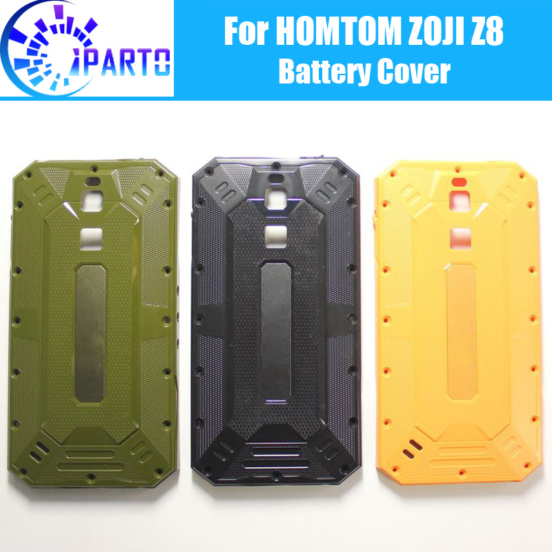 HOMTOM ZOJI Z8 Battery Cover Replacement 100% Original New Durable Back Case Mobile Phone Accessory for HOMTOM ZOJI Z8