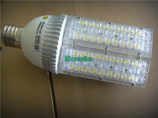 ФОТО led street light 40w street light DC12/24V AC100-240V bridgelux chips e40/e27 ect