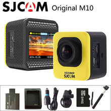 Original SJCAM SJ4000 Cube M10 HD 1080P Mini DV 30M Waterproof Action Sports Camera Camcorder+Battery Charger+Extra 1pcs battery