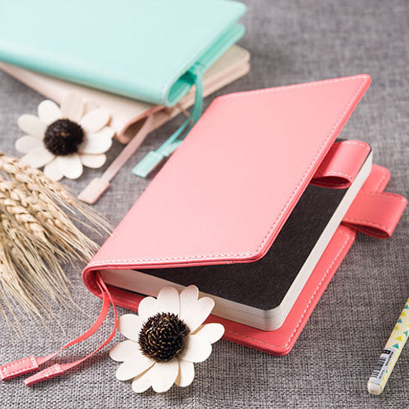 Hobo A5 A6 Diary Memos  Mint Faux Leather Planner Creative Notebook School Stationery Without Filler Pages