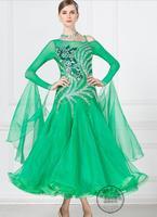 ballroom dress dance custom ballroom dress lycra girls ballroom waltz dresses viennese waltz dress competition
