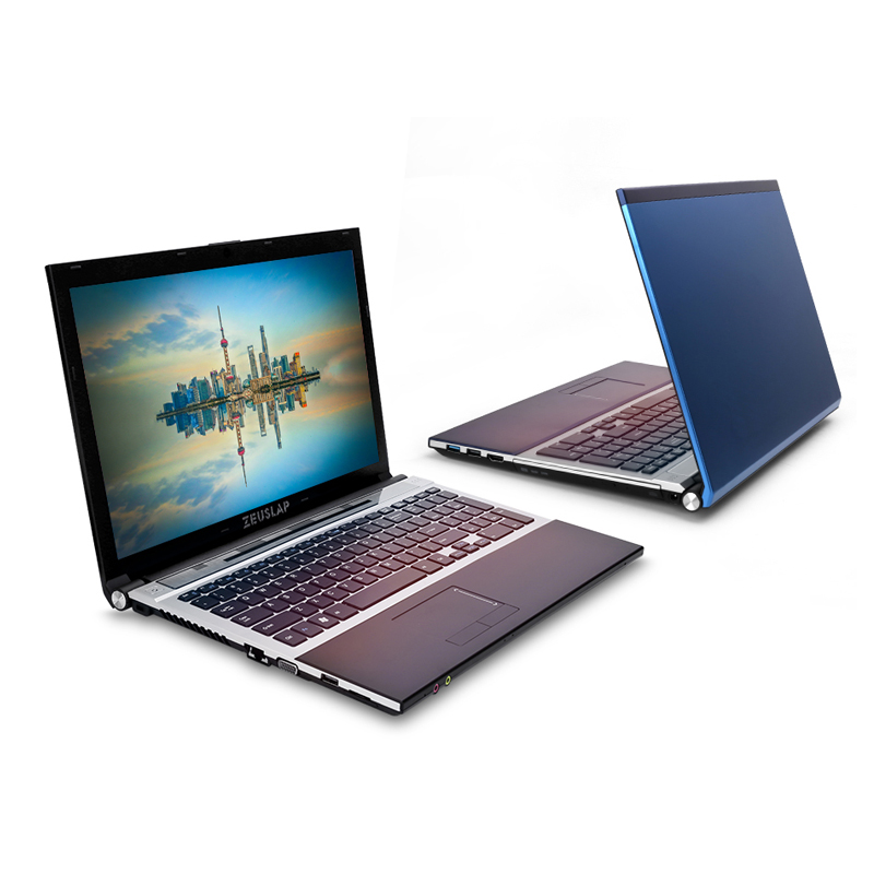 15.6inch Intel Dual Core I7 4GB RAM 256GB SSD 1920x1080P WIFI Bluetooth DVD Rom Windows 10 Notebook PC Computer Laptop
