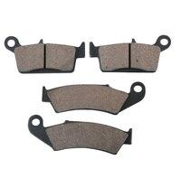 Front Rear Brake Pads Case For HONDA XL250 XR 250R 600R 650L XLR XLR250R 1993