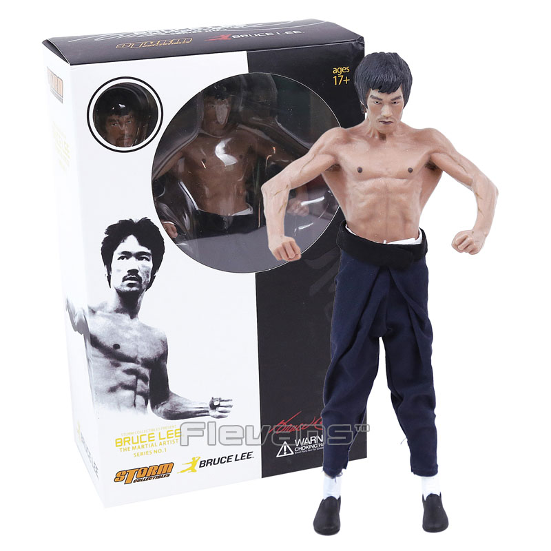 Bruce Lee Figure STORM Collectibles The Martial Artist Series NO.1 Bruce Lee 1/12 Premium Figure Classic Toys Gift duncan bruce the dream cafe
