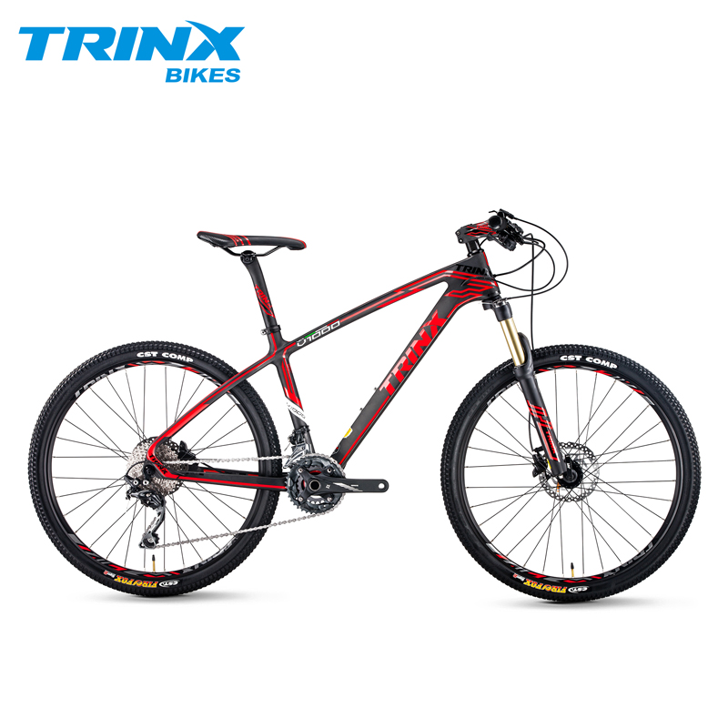 TRINX 20 Speed Mountain Bike 26″ Air Fork Carbon Fiber MTB Bike Light Weight Bicycle Deore Professional MTB Racing Bike