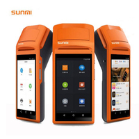 V1s 1GB RAM 5.5 Display Wifi 3G Bluetooth Handheld Mini Android 6.0 POS Terminal with Thermal Receipt Printer