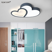 2018 Lustres De Sala Remote Control Dimming Ceiling Lights For Baby Bedroom Study Table Lamp Living Room Home Lighting Luminary