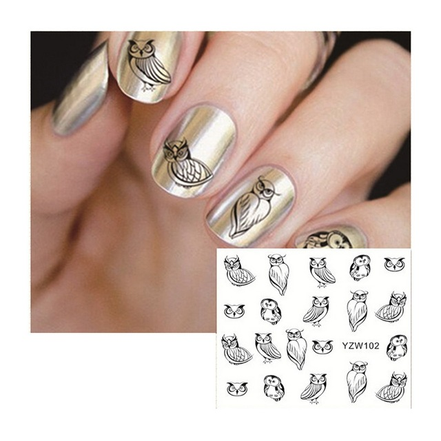 1pc Three Dimensional Nail Paint Stickers Nail Art Diy Decoration