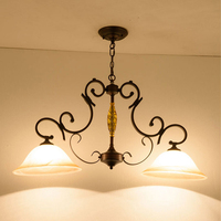 hanging Loft Light Bar American Restaurant Industry led lamp European Retro Made The Old Pendant Lamp Rust Vintage Bulb Lamp E27