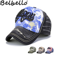 Belbello Outdoor Pupil Breathable Sunshade Cap Water washed dark cotton Comfortable fabrics Baseball cap Children's hat