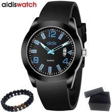 Fashion Men Watches Top Brand Luxury AIDIS Waterproof Quartz