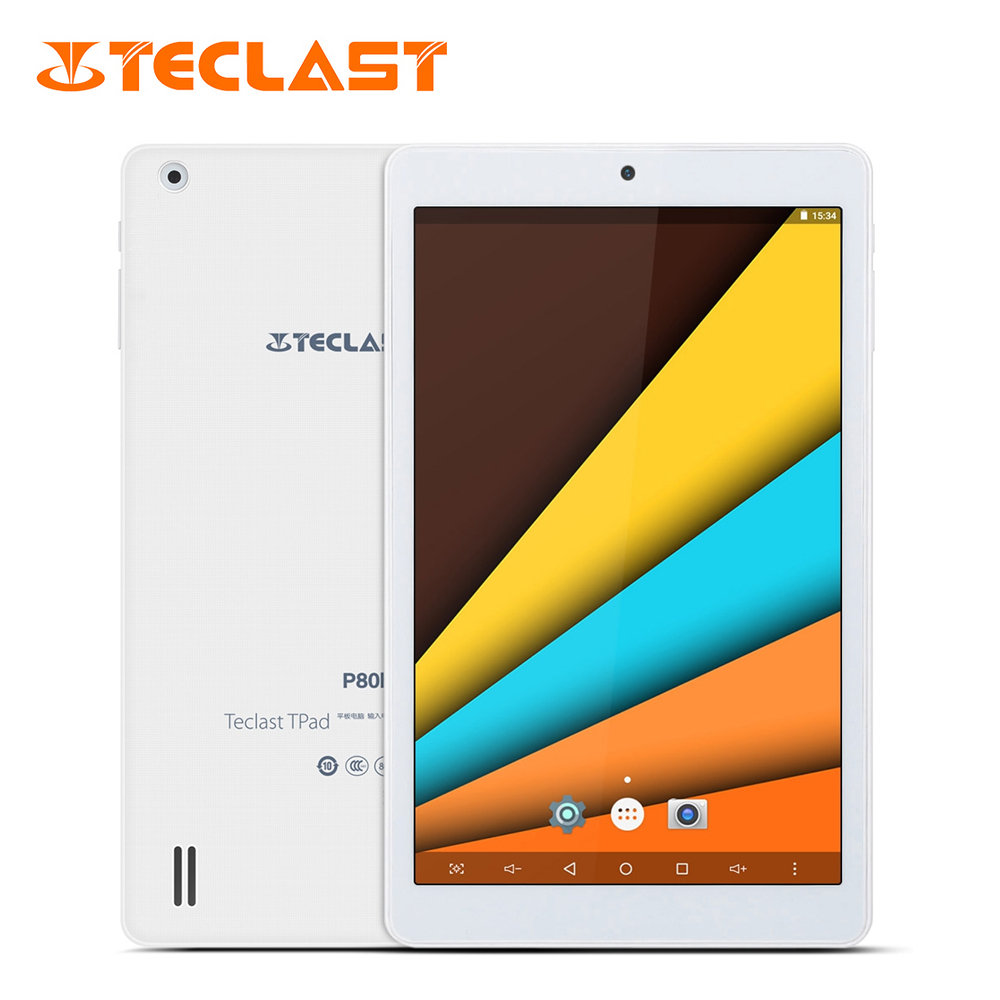 Teclast P80h PC Tablets 8 inch Quad Core Android 7.0 64Bit MTK8163 IPS 1280x800 Dual WIFI 2.4G/5G HDMI GPS Bluetooth Tablet PC планшетный пк tadf dual core 2 10 pc hd ips wifi pc 64 k $5
