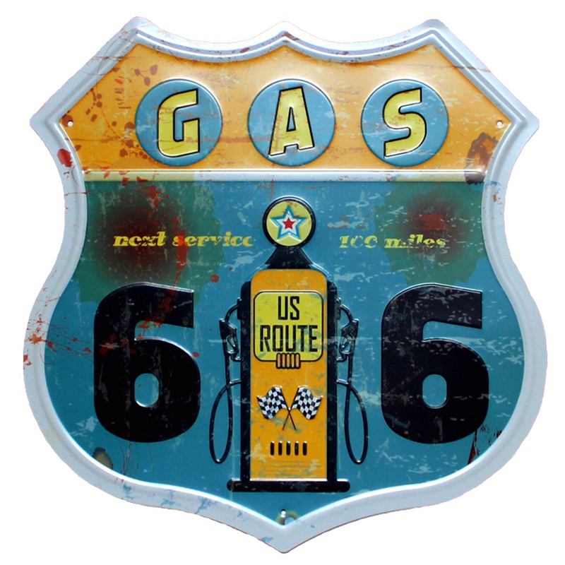 ROUTE 66Restaurant Μπύρα Μπύρας Καφέ Μέταλλο - Διακόσμηση σπιτιού - Φωτογραφία 4