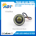 super bright 2pcs DC6-30V 30W 3200LM 3.5Inch 64mm COB Spot Light Head Lamp daytime running lights for ford for benz for honda a6