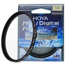 Hoya 58 мм Pro1 цифровых MC UV Объективы для фотоаппаратов фильтр как Kenko B + W
