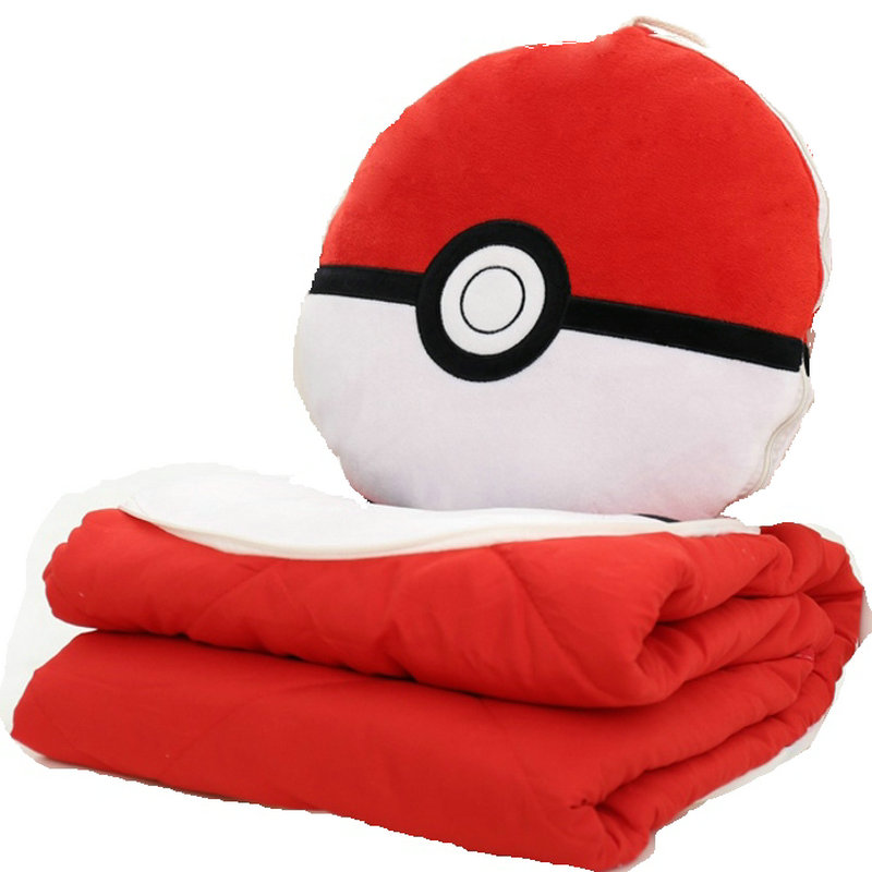 Multifunction quilt and pillow plush ball big soft family furniture toy Office chair cushion stuffed baby sleeping toys