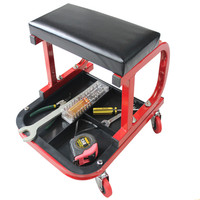 Car Creeper Motor Repair Work Stool Creeper Seat Without Drawer