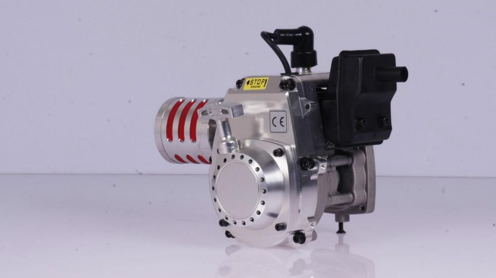 5B baja 30.5CC CNC engine with walbor and NGK 85184 ngk br8hs
