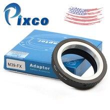 Adaptador de lente compatible con Leica M39, para cámara Fujifilm X