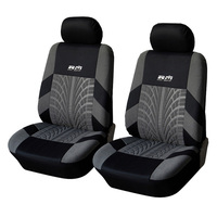 Hot Selling Front Seat Universal Car Seat Covers 3MM Polyester Seat Covers Car Accessories