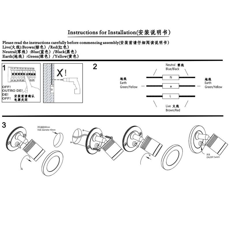Zidna rasvjeta s ugrađenim topochom sa upravljačkim programom za - Unutarnja rasvjeta - Foto 6