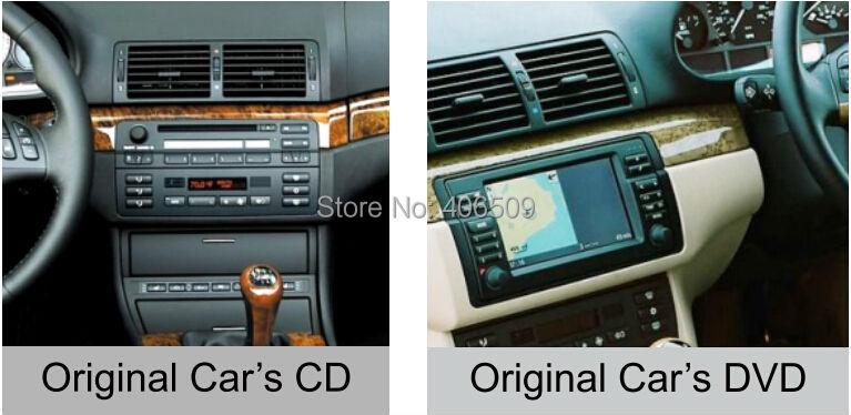 Android 8,0 dvd-плеер автомобиля для BMW 3 серии E46 M3 с gps навигации радио BT USB AUX DVR WI-FI аудио-Видео Стерео 4 ядра 4 г+ 32 г