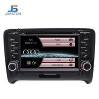 JDASTON Top Auto 2 DIN IN Dash Wince 6.0 Car DVD player for AUDI TT / TTS Bluetooth Radio GPS Navigation Stereo Headunit Audio