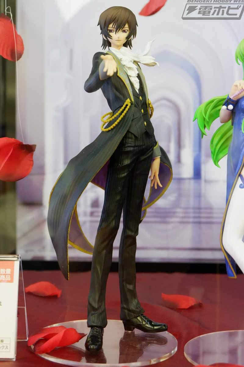 20 cm Japonês anime figura Code Geass Lelouch Lamperouge EXQ original action figure collectible modelo brinquedos