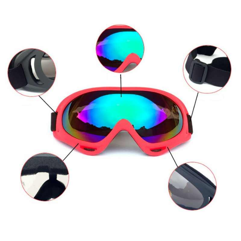 * Winter Skibrillen Sneeuw Snowboard Goggles Anti-fog Grote Ski Masker Bril Uv-bescherming Voor Mannen Vrouwen Jeugd *