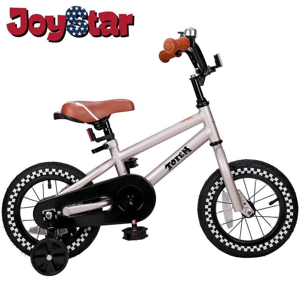 Vélo enfants pour filles et garçons, roues d'entraînement pour 12 14 16 pouces vélo, béquille pour 18 pouces vélo enfant vélo enfants bébé vélo - 2