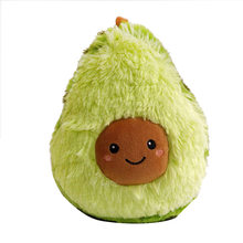 25/30/35/38/45cm Avocad Plants Toys Soft Stuffed Fruits Plush Toys Pillow Cushion Doll Food Plush Doll for Children Kids Gift(China)