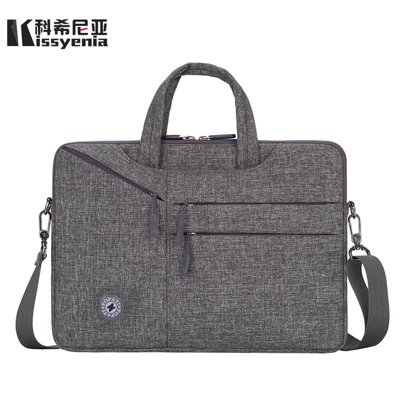 Kissyenia Computer Briefcase Light 15inch Macbook Laptop-Case Flight-Shoulder-Bag Business