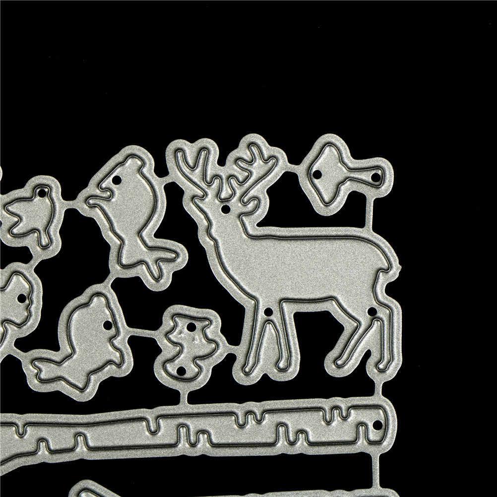 Forest Tree Pole Design Metal Cutting Dies For DIY Scrapbooking Album Card/&/&