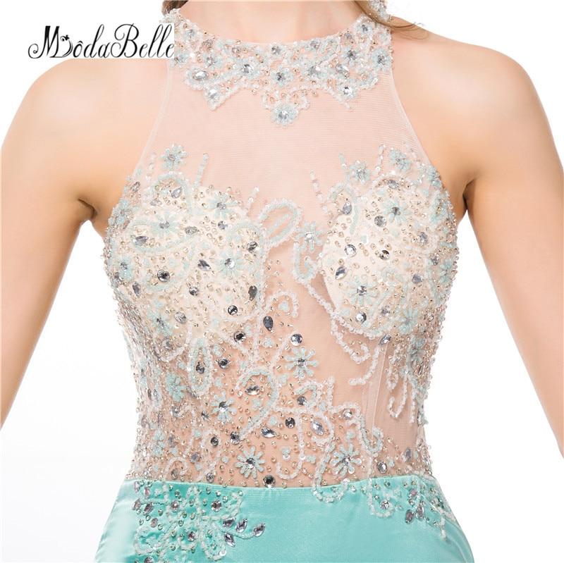 modabelle 2018 Mint Green Prom Dresses Beading Vestidos De Fiesta ... caeb2cb0dacb
