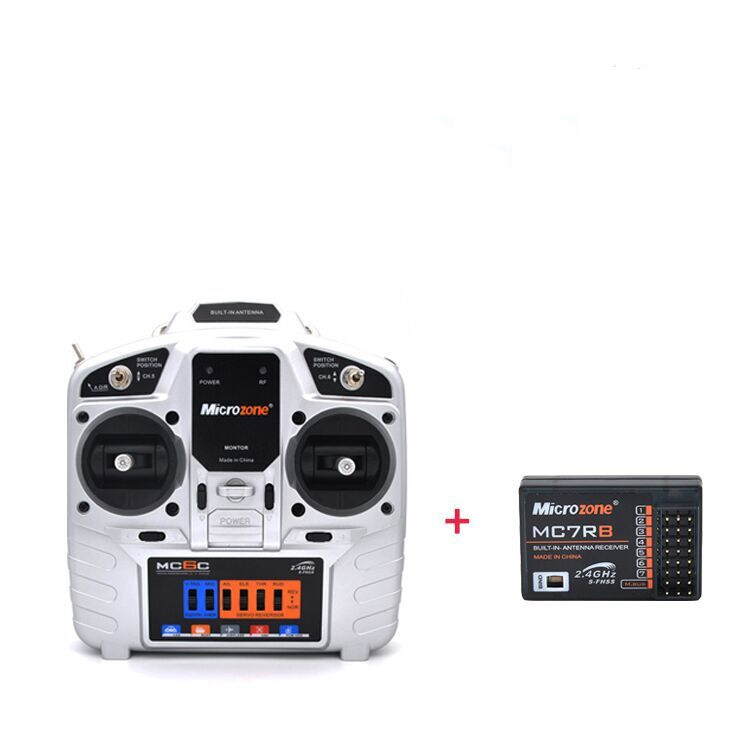 1Set 2.4G 6 Channels Remote Control + Receiver for RC Fixed-wing Aircraft RC Boats/Cars Models Quadcopter KT Board Spare Parts стоимость