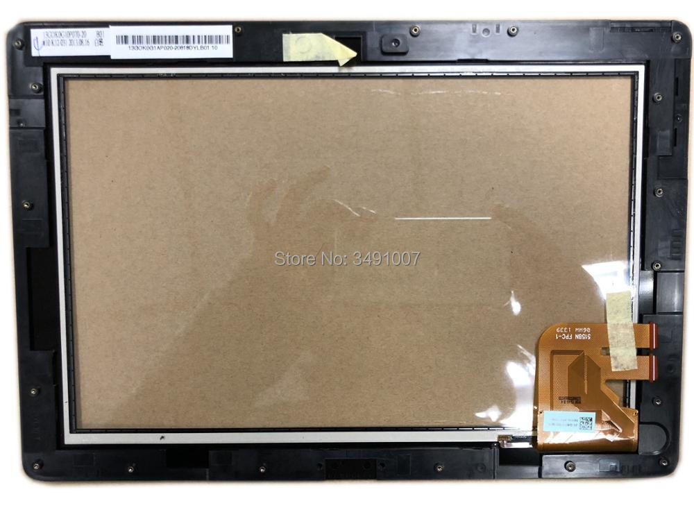 5158N FPC-1 Touch Screen Glass Digitizer with Frame For ASUS Pad TF300T JA-DA5158N-IBB new touch screen digitizer glass for asus memo pad fhd 10 me302 me302c k005 me302kl k00a 5425n fpc 1 100% working perfectly