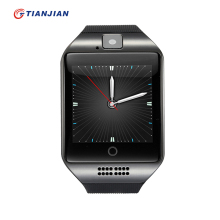 Smartwatch Q18 Bluetooth NFC Smart Watch Waterproof Passometer Call Reminder Support SIM TF Card For Android PK GT08 DZ09 GV18