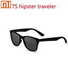 2019 Xiaomi Mijia TS moda gezgin erkek güneş gözlüğü STR004 0120 TAC polarize UV koruma lensler erkekler/kadınlar için/gözlük