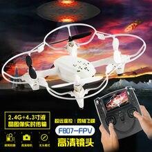 RC drone Мультикоптер F807 Gryo 6-осевой FPV С HD Камеры ЖК-Передатчик Видео Потоковое Аудио Записи ПРОТИВ X4 H107D