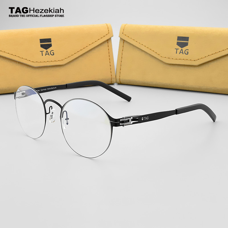 7b18cac0ce8 Detail Feedback Questions about round glasses frame women s frame degree  eyeglasses men TAG Brand Myopia computer optical glasses frame original box  vintage ...