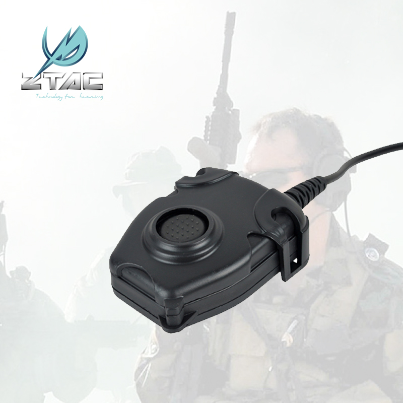 Z112 Z-TAC Waterproof Softair Tactical Hunting Noise Reduction Headphones Element Peltor Headset IPSC PTT For Kenwood Midland