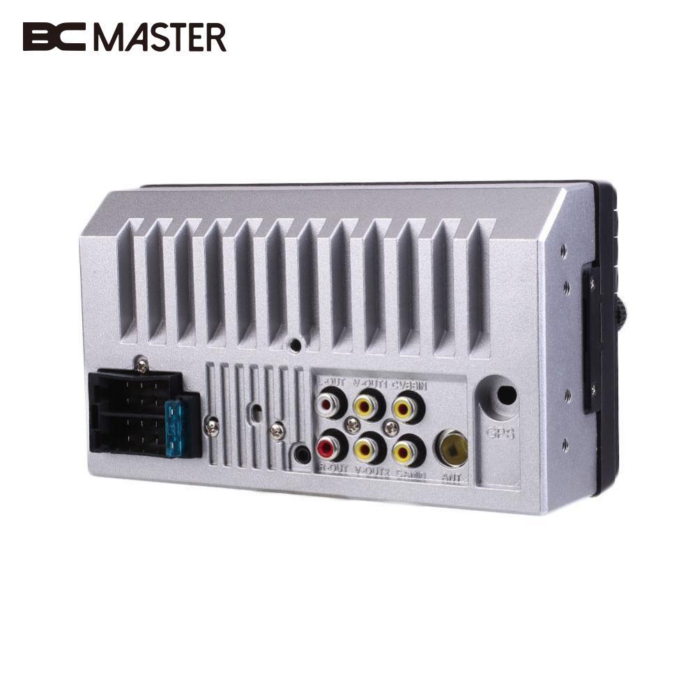 BCMaster 2DIN Car Bluetooth 7 HD Radio In Dash Resolution Stereo MP5 Player FM Radios autos Car Multimedia Player w/Rear Camera car mp5 player bluetooth 2 din car dvd player multimedia gps navigation wifi fm radio car mp5 player rear bluetooth video 2 0