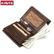 Genuine Leather Men Wallet Model 7
