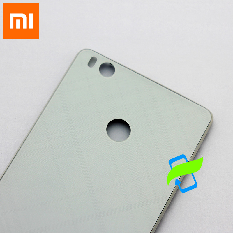 Image 3 - New For Xiaomi 4S Back Battery Cover Back Housing Cover Case  For XIAOMI Mi 4S Rear Door Back Cover Replacement-in Fitted Cases from Cellphones & Telecommunications